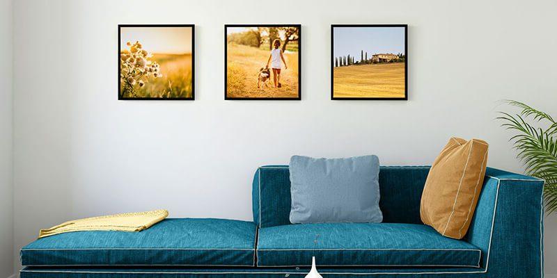 4 креативных способа добавить индивидуальность вашему дому с помощью фотографий