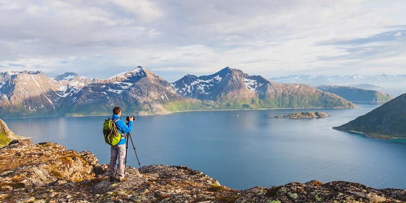 Как сделать панорамную фотографию?